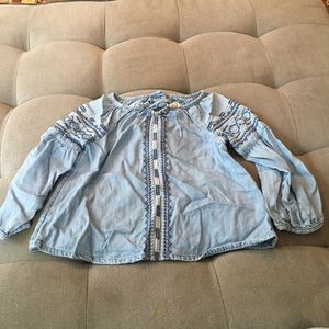 Baby Gap size 3 Denim blouse